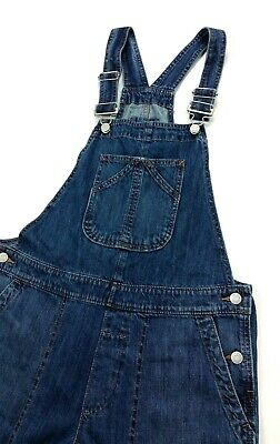 Vintage Overalls & Jumpsuits GAP Denim Crop Slouch Cropped Bib Overalls Small Womens $29.99 AT vintagedancer.com
