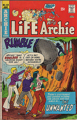 "Life with Archie #158 VF+  ""The Unwanted"" (1975 Archie Series)"