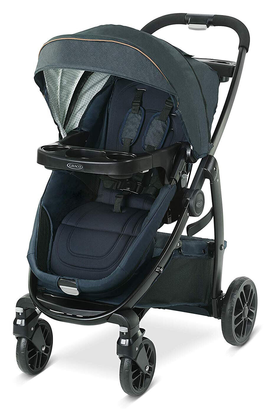 Graco Baby Modes BassinetClick Connect 4-Wheel Stroller Hy