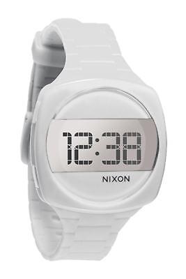 Nixon Men's Dash A168100 White Silicone Quartz Watch