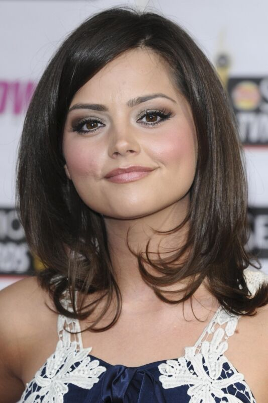 Jenna Coleman Angelic Face 8x10 Picture Celebrity Print