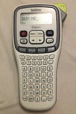 Brother P-touch Easy Hand-held Label Maker Pt-h100