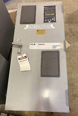 Cutler Hammer Atc-400 Ath4fda30030asu Controlled Transfer Switch 120-600v 3 Ph