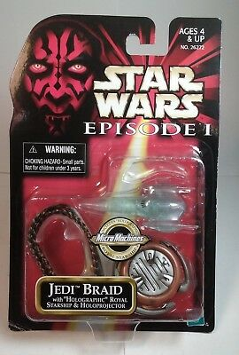 Star Wars Episode 1 Jedi Braid MOC Micro Machines Holographic Starship  - Jedi Braids