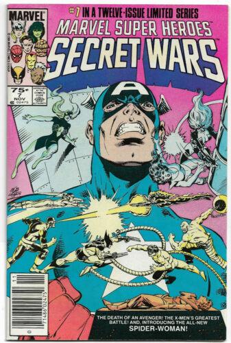 MARVEL SUPER HEROES SECRET WARS#7 NM 1984 NEWSTAND EDITION MARVEL COMICS