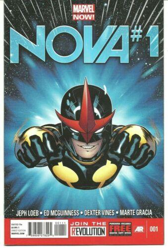NOVA #1 2013 Marvel Comic Loeb & McGuinness NM Condition 1st App Sam Alexander