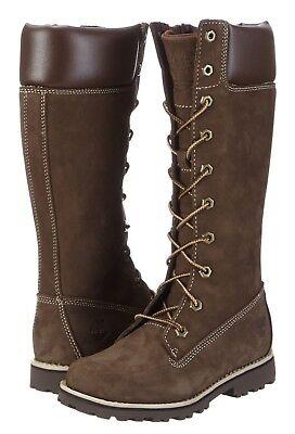 Asphalt Trail Tall Boot (TIMBERLAND ASPHALT TRAIL TALL GIRLS BOOTS. BROWN (MARRON), 13.5 UK, 32.5 EU, NEW)