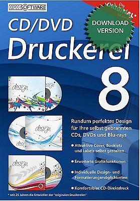 CD/DVD Druckerei 8 kompatibel zu DATA BECKER / Download-Version