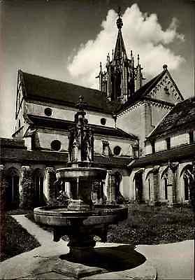 Kirchen Motiv-Postkarte Klosterkirche BEBENHAUSEN bei Tübingen alte AK ~1950/60