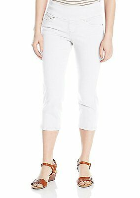Jag Jeans Women's Petite Echo Pull-On Cropped Pant In Dolce Twill MSRP NWT