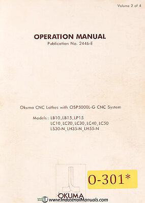 Okuma Lb10 Lb15 Lp15 Lc10 Lc20 Lc40 Lc50 Ls30-n Lh35-n Lh55-n Operation Manual