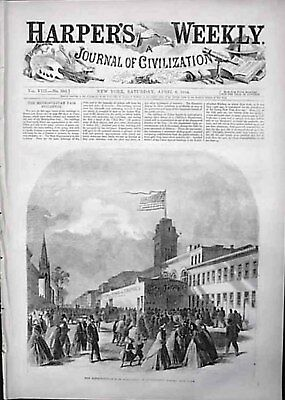 CIVIL WAR KNOXVILLE TENN METRO FAIR THOMAS NAST PRINT NEGROES LEAVE SOLDIER BALL