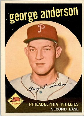 1959 Topps 338 Sparky Anderson RC EX-MT #D289237