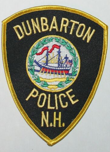 DUNBARTON POLICE New Hampshire NH PD patch