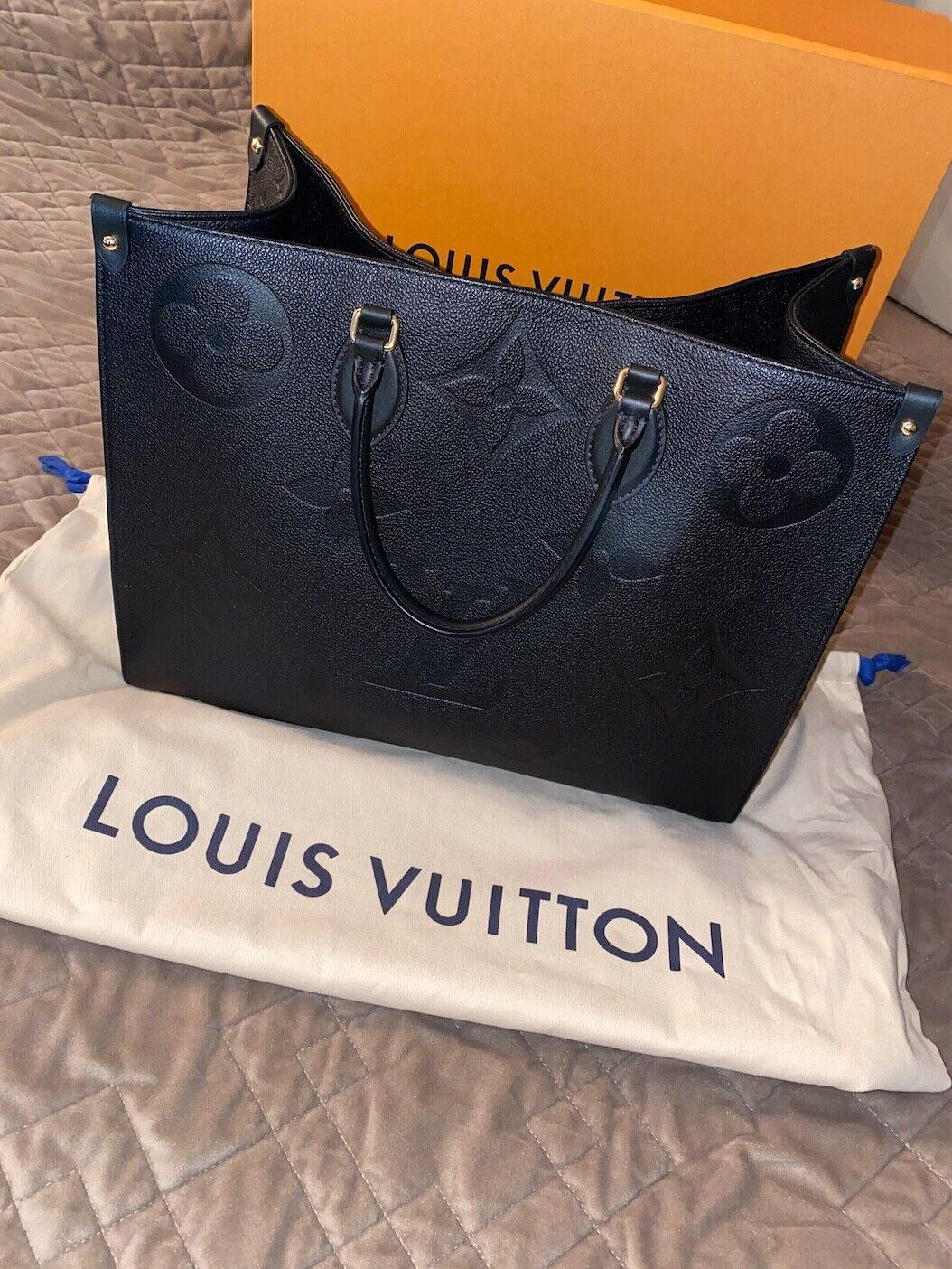 Louis Vuitton Hand bag On The Go Size GM