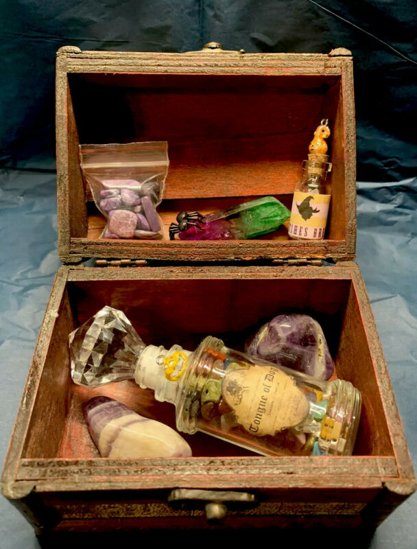 Halloween Witches Decorative Potion Box