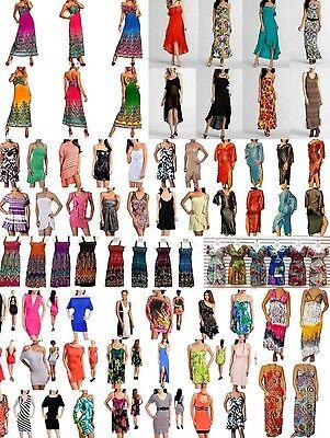 WHOLESALE LOTS WOMEN Dresses Formal Summer Cocktail Clubwear Maxi Mini S M L XL