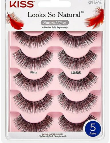 KISS LASH COUTURE FAUX MINK COLLECTION FALSE EYELASHES new f