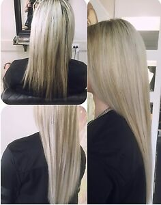Human hair extensions $250 Clontarf Redcliffe Area Preview