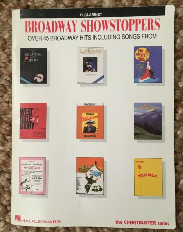 Broadway Showstoppers Bb Clarinet Sheet Music