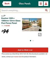 Everton glass panel fencing Shellharbour Shellharbour Area Preview