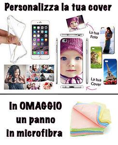 COVER FOTO PERSONALIZZATA TPU PER HUAWEI Y6 II 2 COMPACT OMAGGIO PANNO - Italia - L'oggetto può essere restituito - Italia