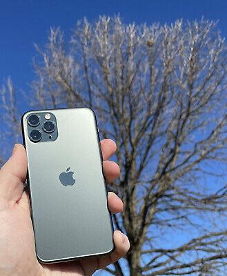 Apple iPhone 11 Pro - 256GB - MidnightGreen (Unlocked) A2160 (CDMA + GSM) Mint