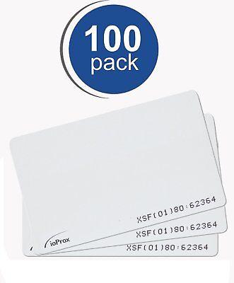 Kantech P20dye Ioprox Xsf26 Bit Identification Proximity Card 100 Pack