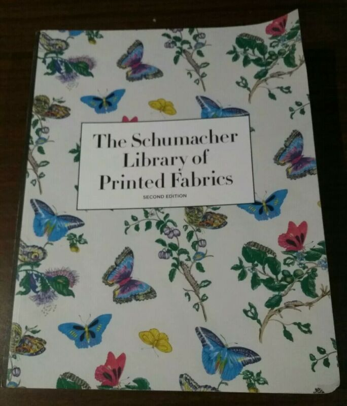The Schumacher Library Of Printed Fabrics Second Edition Paperback Catalog