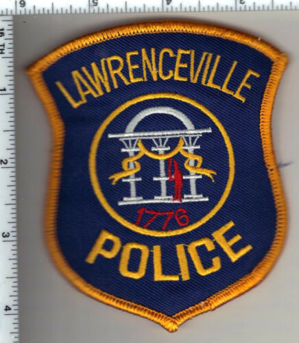 Lawrenceville Police (Georgia)  Shoulder Patch - new from 1990
