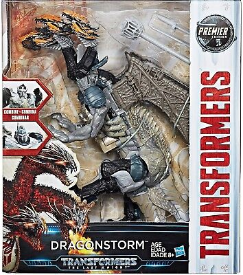 Hasbro Transformers Last Knight DRAGONSTORM Premier Edition Leader Class Figure