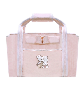 Câlin Câline pink & white Nappy bag