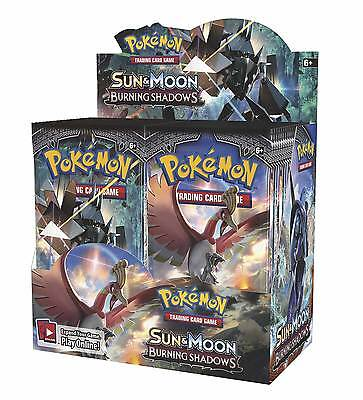 Pokemon Sun And Moon Burning Shadows Booster Pack   1X Booster Pack  In Stock