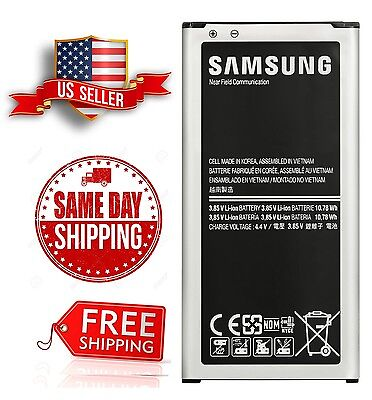New OEM Samsung Galaxy S5 Battery 2800 mAh EB-BG900BBU Bona fide Original G900
