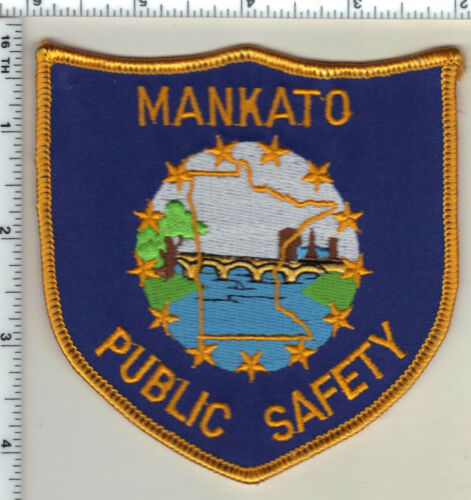 Mankato Public Safety (Minnesota)  Shoulder Patch  - new from 1991