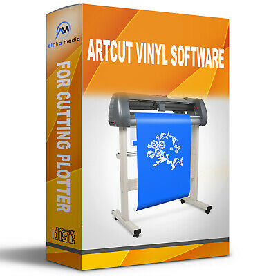 Artcut Software Vinyl Cutter Plotter 2009 Pro Sign Making - Create Refine Roland