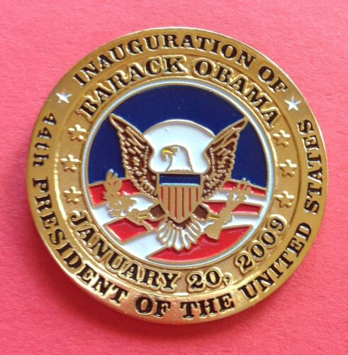 Barack Obama Inaugural Lapel Pin 2009 Inauguration