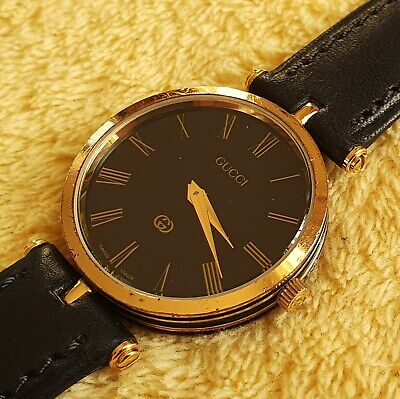 Gucci 2000M 18k Gold Plated Men's/Women's Watch (NR506)
