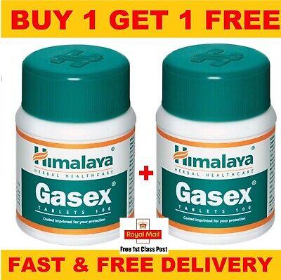 Himalaya Herbal Aurveda Natural Health Beauty Gasex Tablets | 100 Tablets