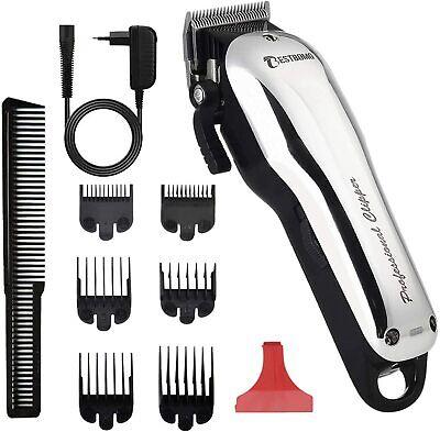 BESTBOMG Y5 Máquina de cortar pelo profesional, cortadora de cabello con 6...