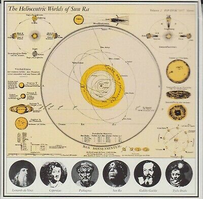 The Heliocentric Worlds of Sun Ra Vol. 2 (CD, 1992, ESP-Disk) VERY GOOD FREE