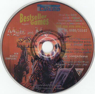 Might and Magic 5 Darkside of Xeen - CD aus Bestseller