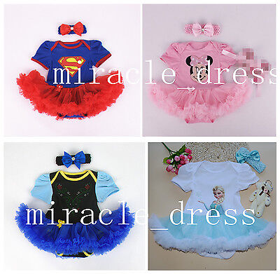 GIRLS TODDLER PRINCESS FANCY DRESS UP COSTUME BIRTHDAY Hairband DRESS OUTFITS (Dress Up Outfits)