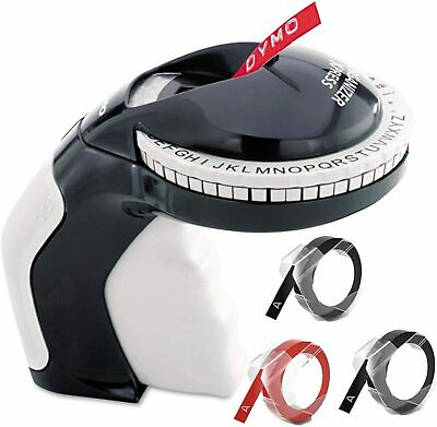 Manual Home Dymo Embossing Label Maker With 3 Dymo Label Tapes Xpress Pro Label