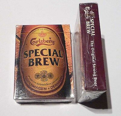 SINGAPORE Playing Cards CARLSBERG SPECIAL BREW BEER 2012 Sealed Mint