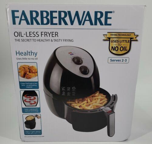 Farberware 3.2 Quart Oil-Less Multi-Functional Air Fryer Bla
