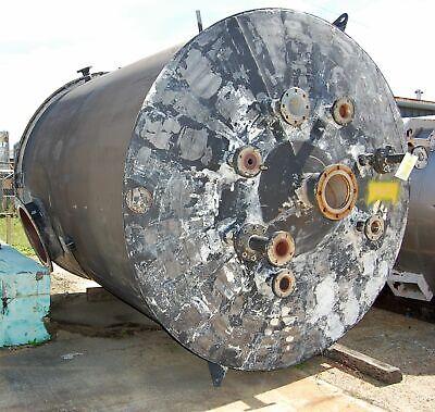 304 Stainless Steel Tank 3500 Gallon 8 Diameter X 10 Height 304ss
