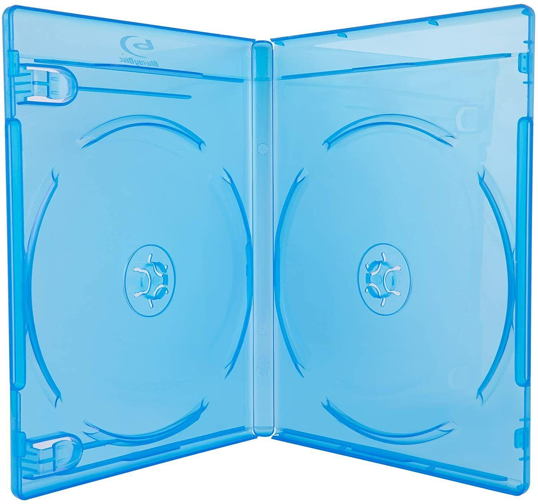 ✔️ 2 Blu-ray Replacement Premium Cases 2 Disc with Logo ? купить