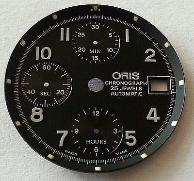 NOS Zifferblatt ORIS  CHRONOGRAPH 25 JEWELS AUTOMATIC ETA 578004