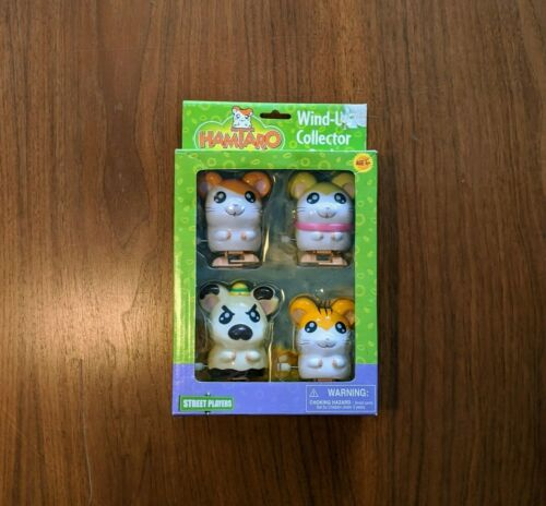 2003 Hamtaro Wind Up Figures Hamsters Street Players Collectors Anime Cosplay